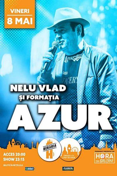 Poster eveniment Nelu Vlad & Azur
