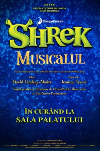 Poster eveniment Shrek Musicalul