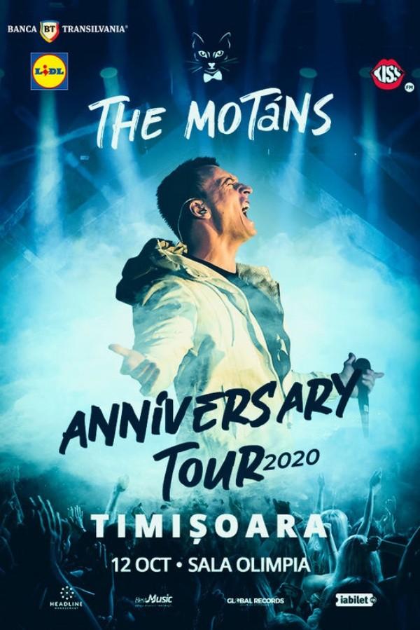 The Motans - turneu aniversar la Sala Sporturilor