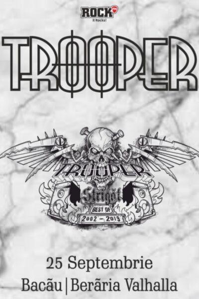 "Poster eveniment Trooper: \""Strigăt Best Of 2002 - 2019\"""