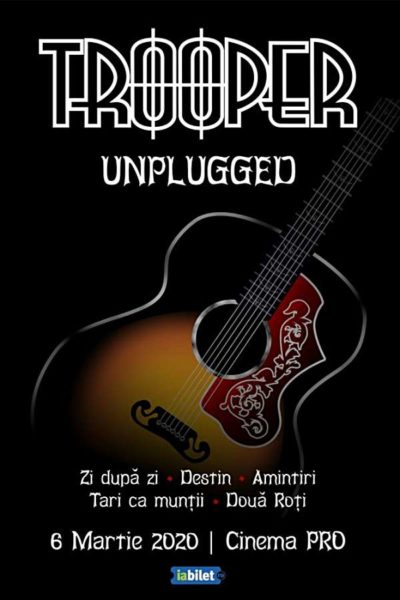 Poster eveniment Trooper - unplugged