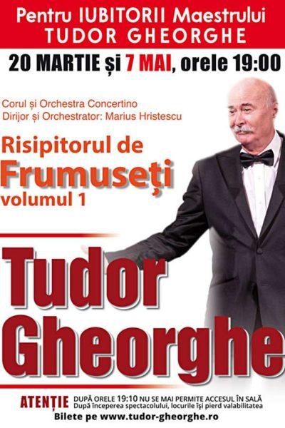 Poster eveniment Tudor Gheorghe - Risipitorul de frumuseți