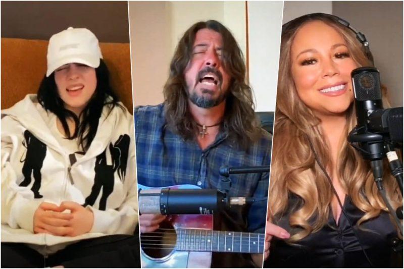 Billie Eilish / Dave Grohl / Mariah Carey