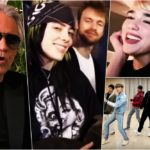 Andrea Bocelli / Billie Eilish & Finneas / Dua Lipa / BTS @James Corden Homefest