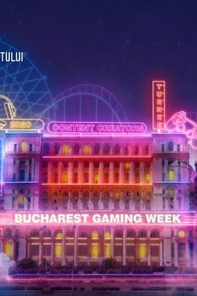 Bucharest Gaming Week 2020 la Palatul Parlamentului