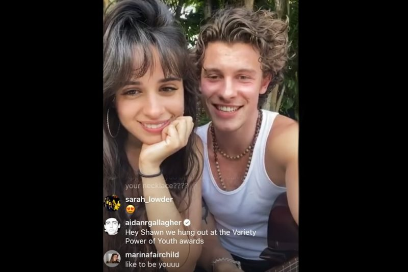Together At Home with Shawn Mendes & Camila Cabello