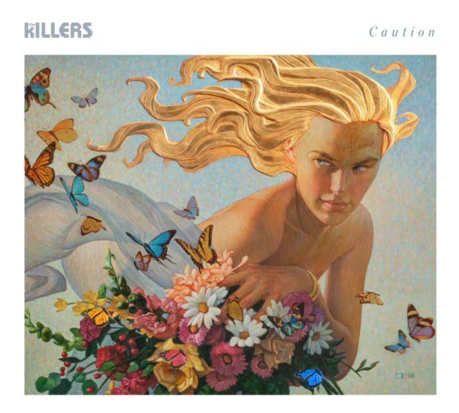 Coperta single The Killers Caution
