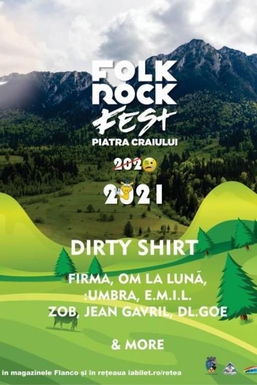 Folk Rock Fest 2020 la Parcul Național Piatra Craiului