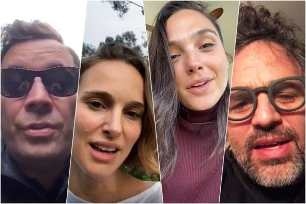 Jimmy Fallon / Natalie Portman / Gal Godot / Mark Ruffalo