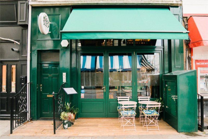 Restaurant Ed Sheeran Bertie Blossoms Londra 2020