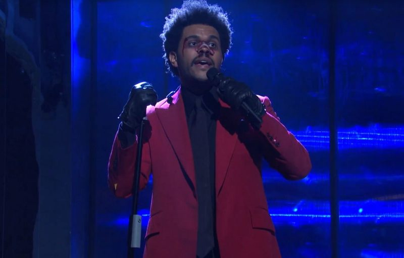 Videoclip The Weeknd Scared to Live Saturday Night Live 2020