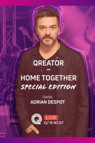 Poster eveniment Aproape 1 mai la Qreator – Home Together Special Edition