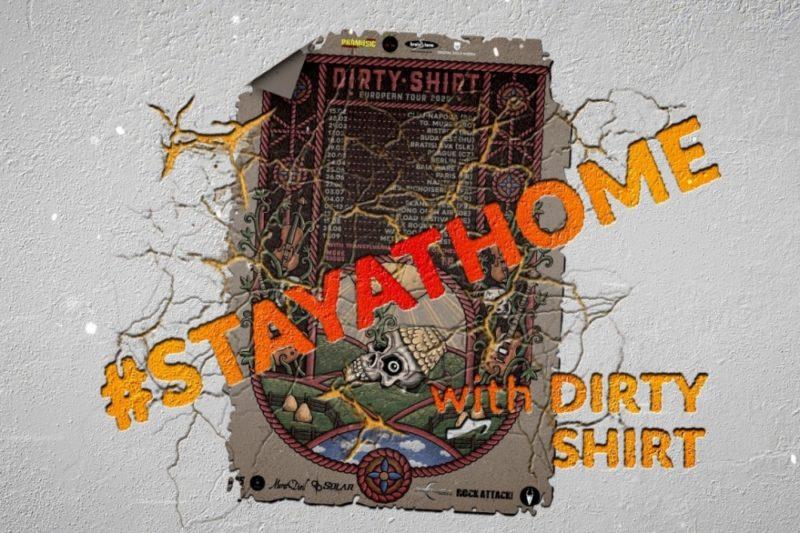 Poster eveniment Dirty Shirt ONLINE