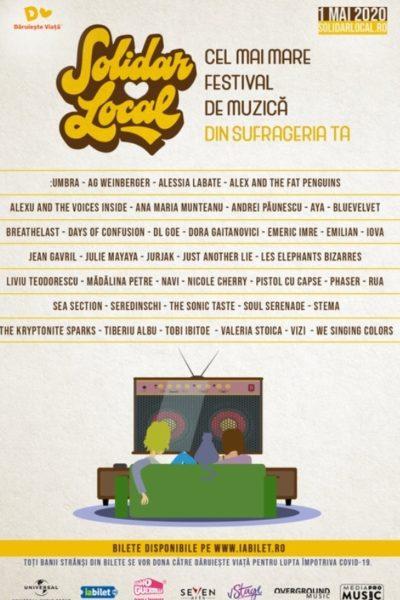 Poster eveniment SolidarLocal Festival