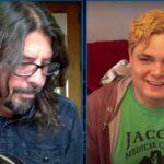 Dave Grohl în emisiunea lui Jimmy Fallon (captură ecran)
