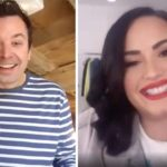 Demi Lovato & Jimmy Fallon (captură ecran)