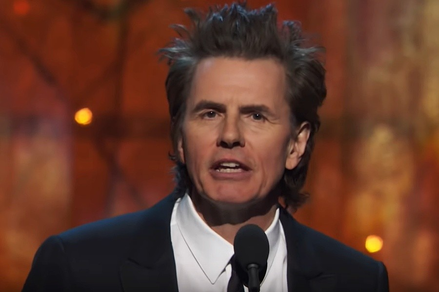 John Taylor, basistul trupei Duran Duran, la ceremonia Rock And Roll Hall of Fame din 2019 (Screenshot)