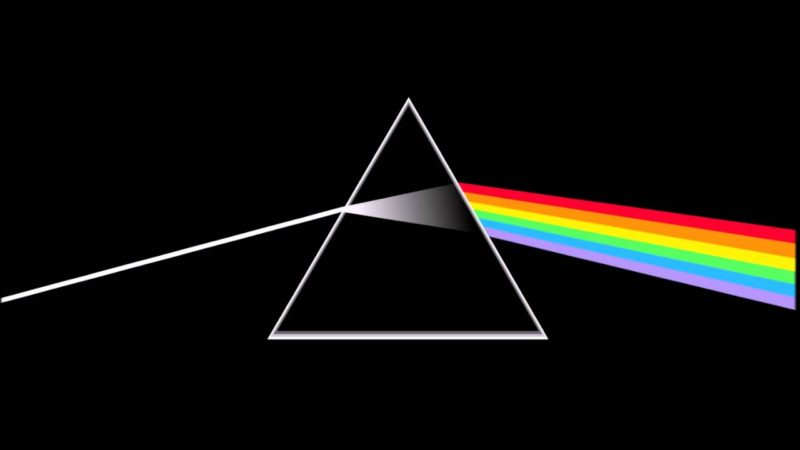 Pink Floyd coperta Dark Side of the Moon
