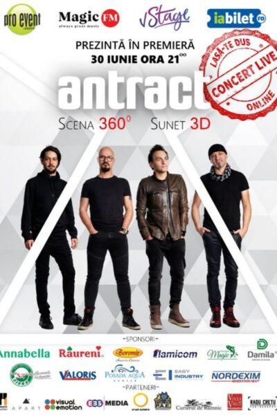 Poster eveniment Concert Antract 360 de grade
