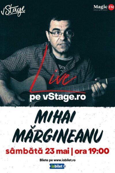 Poster eveniment Mihai Mărgineanu - ONLINE