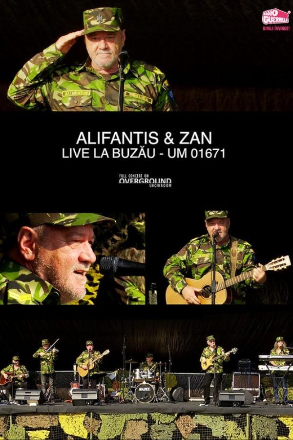 Overground Showroom: Alifantis & Zan: live la Buzău la