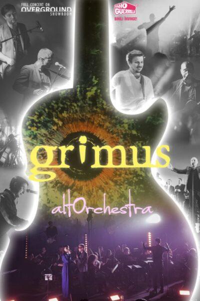 Poster eveniment Overground Showroom: Grimus simfonic – ALTOrchestra 100