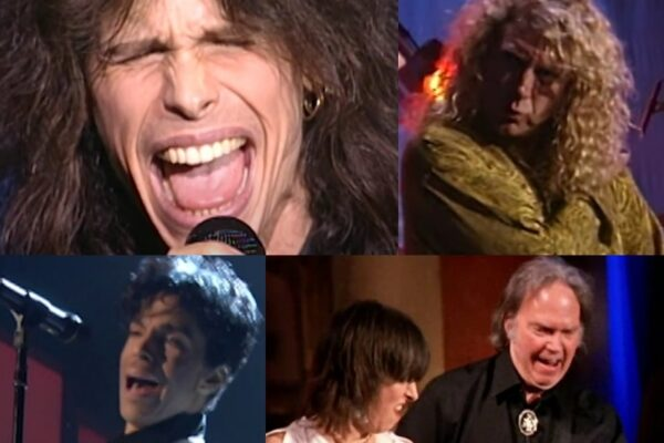 Aerosmith / Led Zeppelin / Prince / The Pretenders / Neil Young - Rock & Roll Hall of Fame (screenshots)