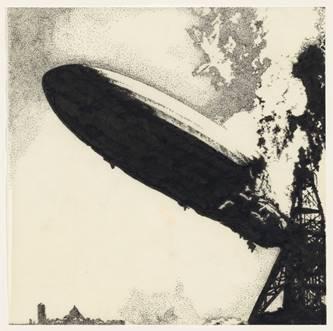 Artwork-ul original al albumului de debut Led Zeppelin (rollingstone.com)