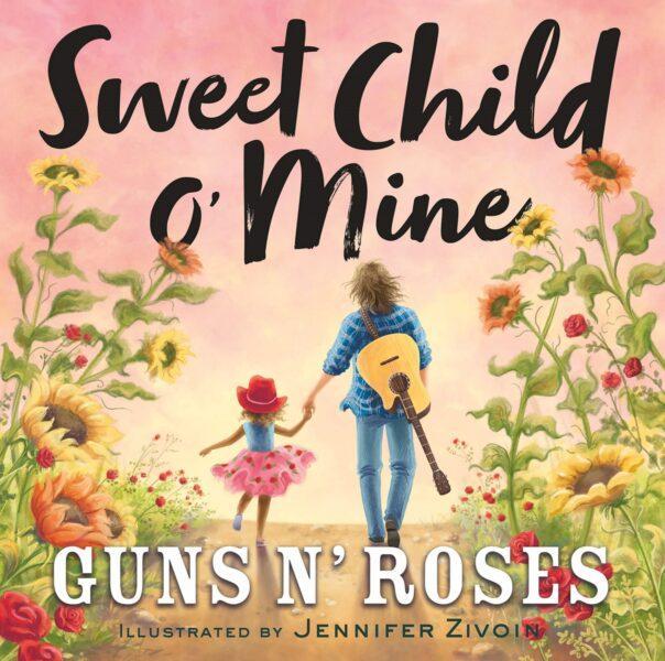 """Copertă carte """"Sweet Child O'Mine"""" (Amazon - captură ecran)"""