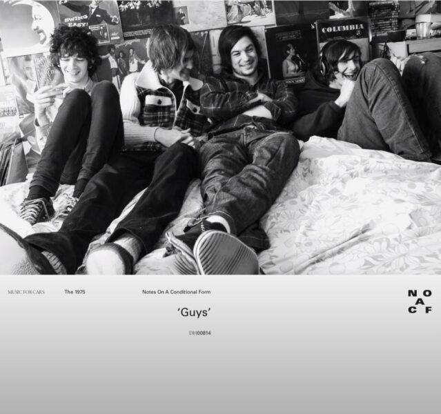 Coperta single The 1975 Guys