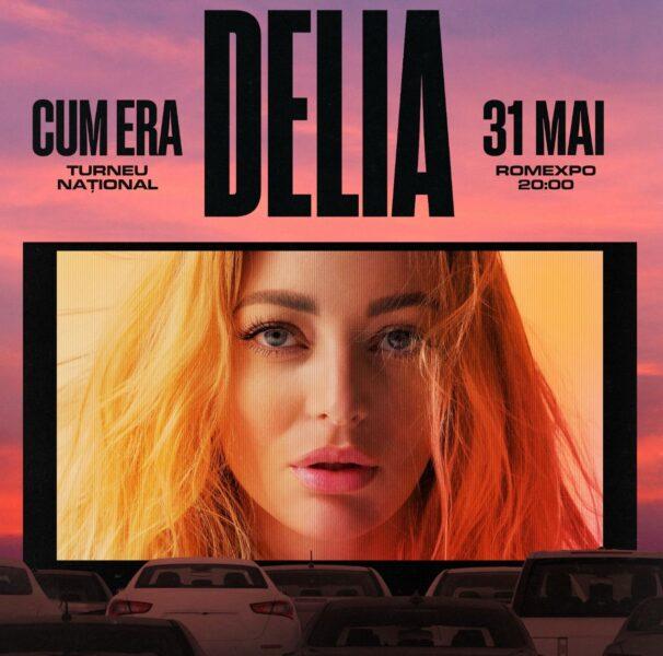 Delia concert Cum Era drive in Romexpo 2020