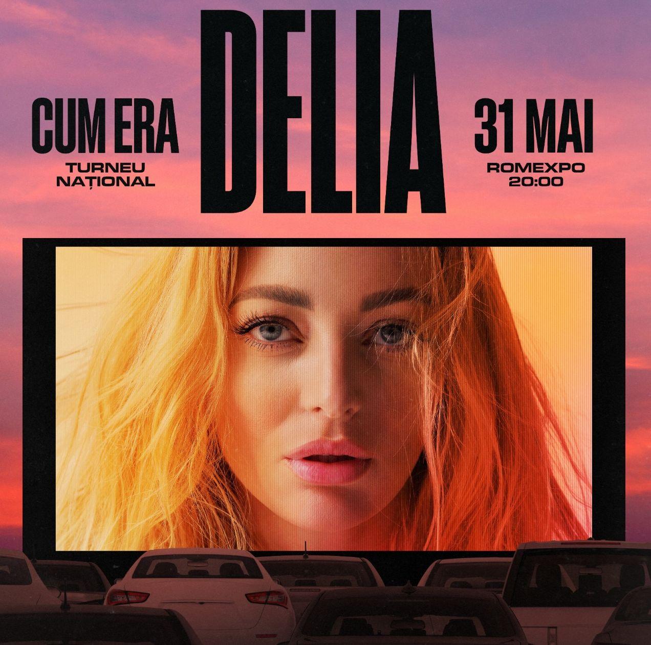 Delia - concert Drive In la Romexpo