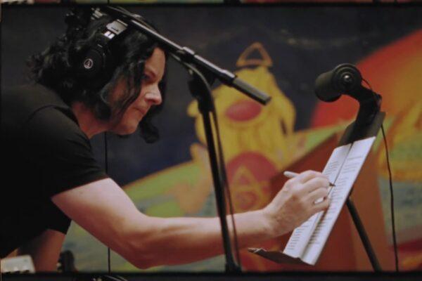 """Jack White în trailerul """"Live at Electric Lady"""" (captură ecran)"""