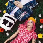 Lyric Video Halsey Marshmello Be Kind