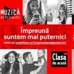 Platforma concerte live Vodafone Impreuna Mai Puternici