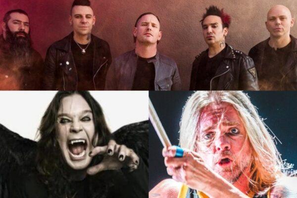 Stone Sour/ Ozzy Osbourne/Will Hunt (Evanescence)