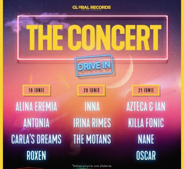 Poster The Concert Drive in 2020 Romexpo