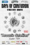 """Days Of Confusion – """"Acoustic Satellites"""""""