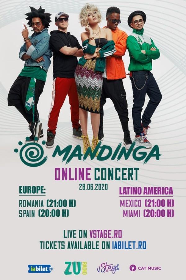 Mandinga: Online Live Concert la vStage.ro