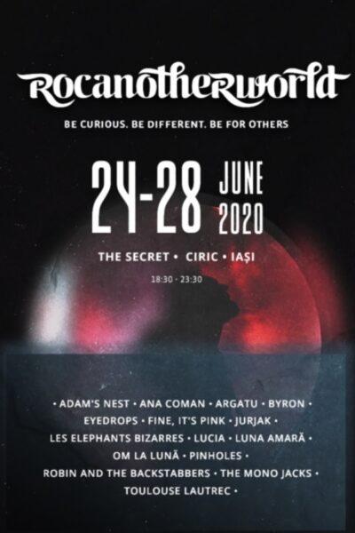 Poster eveniment Rocanotherworld 2020