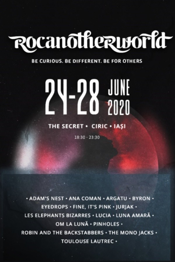 Rocanotherworld 2020 la The Secret, Ciric