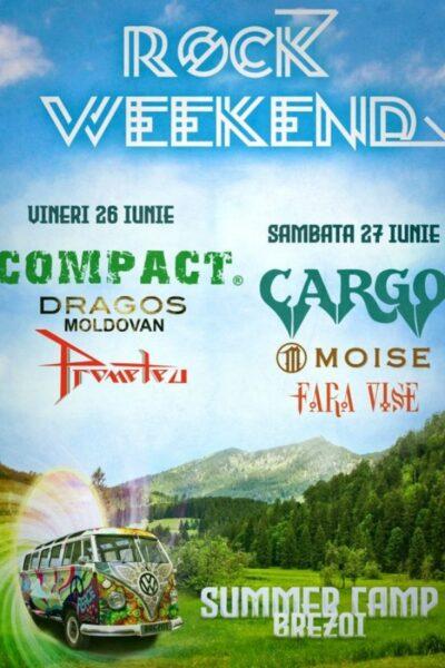 Poster eveniment Rock Weekend - Summer Camp Brezoi