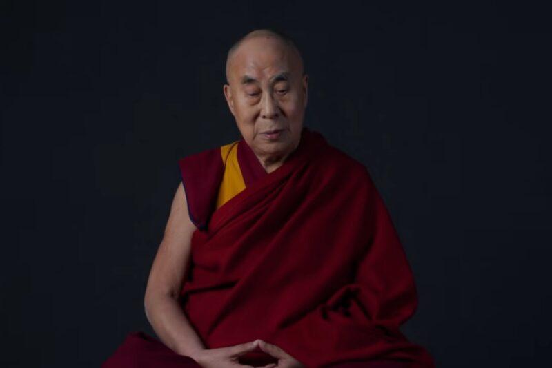 Dalai Lama în trailerul albumului