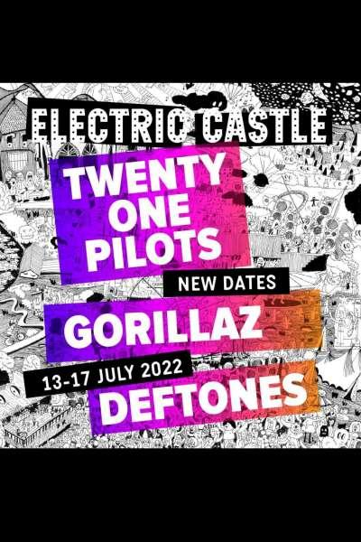 Poster eveniment Electric Castle 2022
