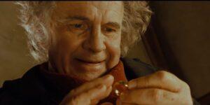 Ian Holm Bilbo Baggins Lord of the Rings