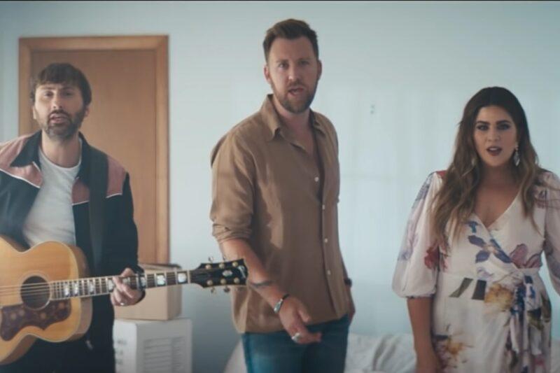 Lady A în videoclipul piesei