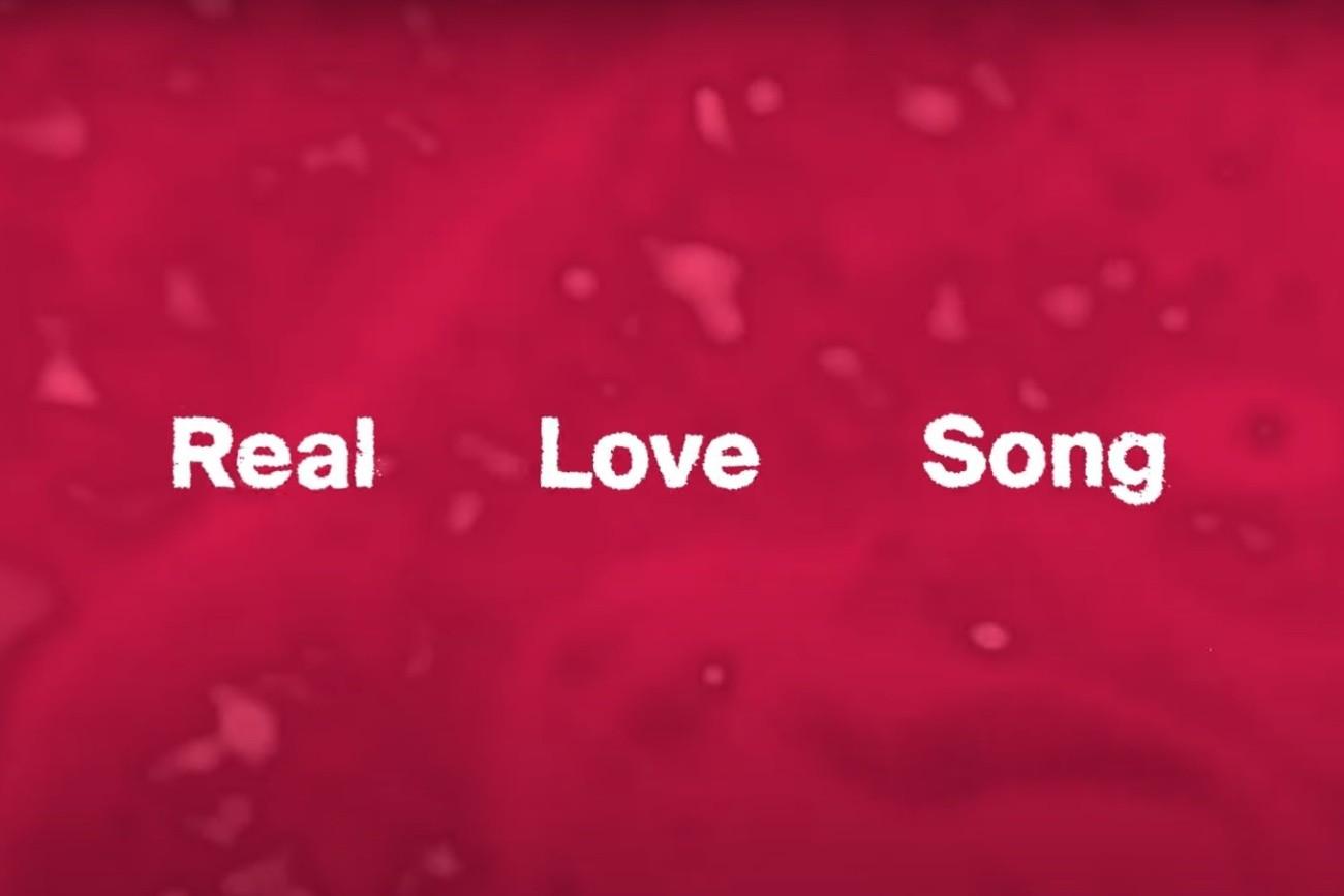 "Artwork ""Real Love Song"" (captură ecran)"