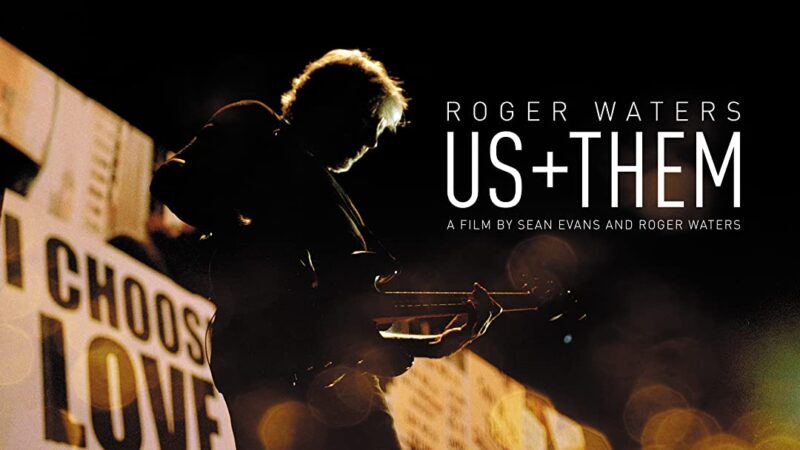 Coperta film Roger Waters Us + Them