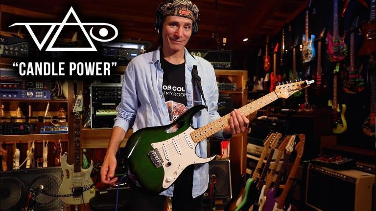 Steve Vai aniversare 60 de ani Candle Power single nou