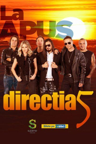 Poster eveniment Direcția 5 - La Apus